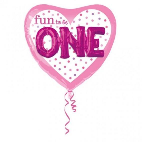 """Μπαλόνι Φοιλ Καρδιά 36"""" Fun..."""