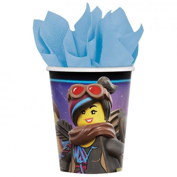 Ποτήρια χαρτ. 266ml Lego...
