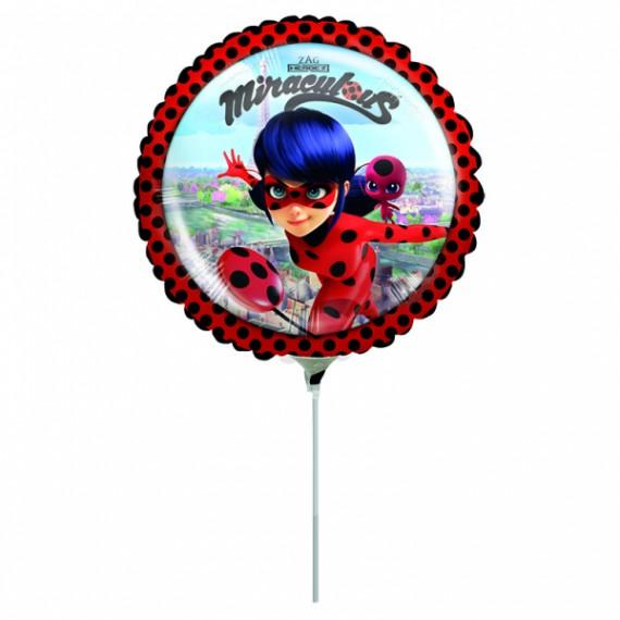 """Μπαλόνι Φοιλ 9"""" Miraculous..."""