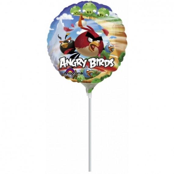 """Φοιλ 9"""" Στρογγυλό Angry Birds"""