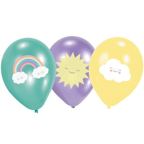 """Μπαλόνια Λατέξ 11"""" Rainbow..."""