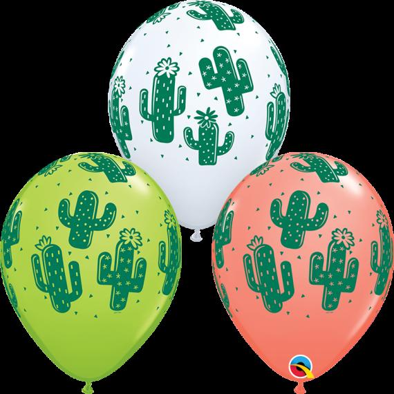 """Μπαλόνια Λάτεξ 11"""" Cactuses..."""