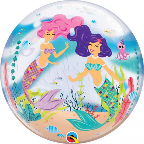 "Bubble Μονό 22"" Mermaid..."