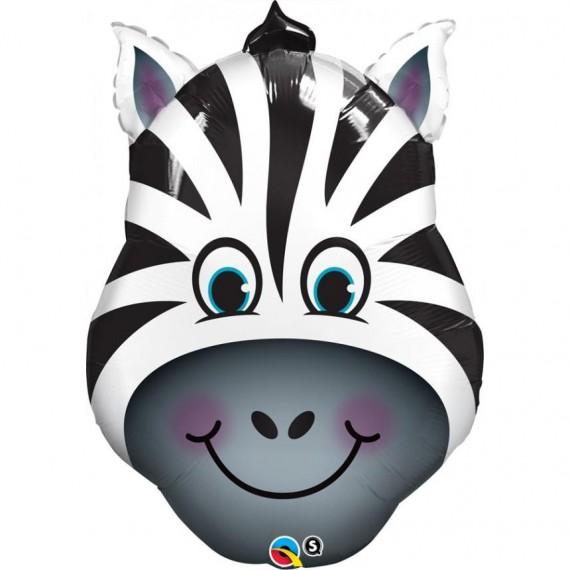 """Μπαλόνι Foil 32"""" Zany Zebra..."""