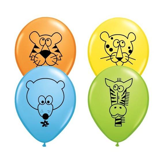 """Μπαλόνια 11"""" Jungle Animals..."""
