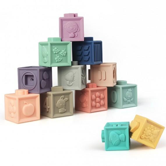 Εκπαιδευτικοί 3D Κύβοι Baby...