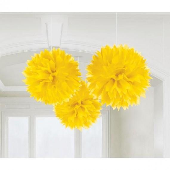 Fluffy Διακοσμητικό Κίτρινο...