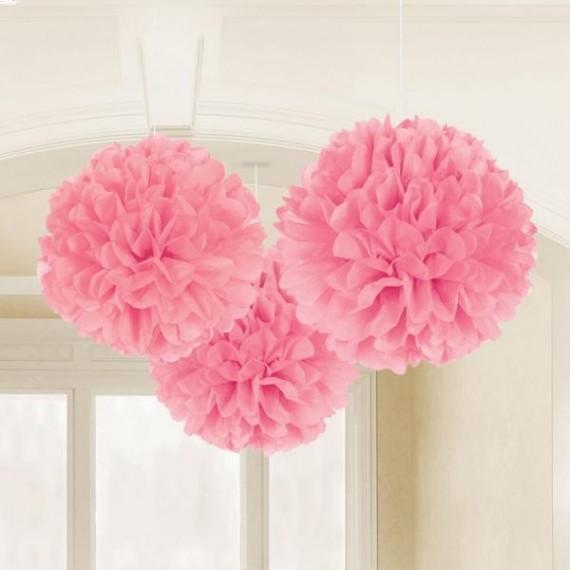 Fluffy Διακοσμητικό ροζ...