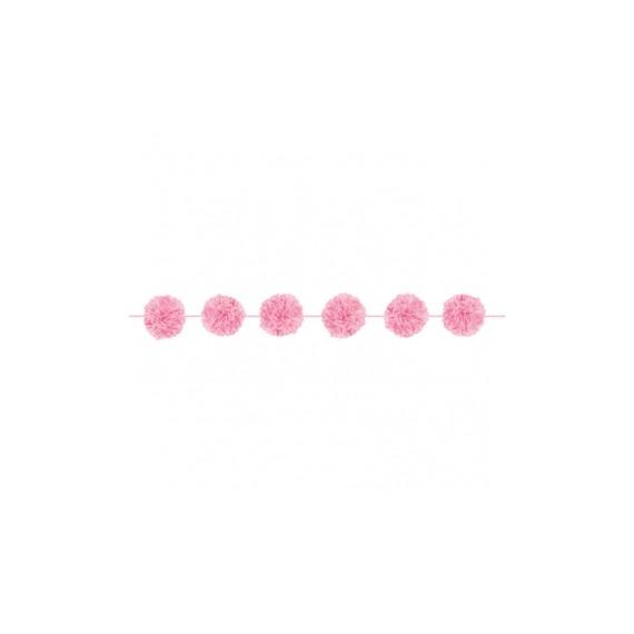 Γιρλάντα Fluffy Light Pink...