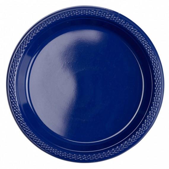Πιάτα 17,7εκ. πλαστικά Μπλε...