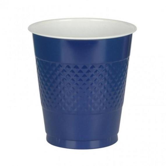 Ποτήρια 355ml πλαστικά Μπλε...