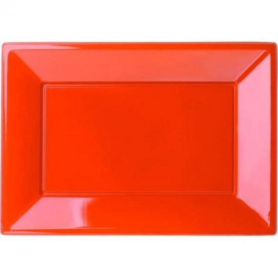 Πιατέλα πλαστική Πορτοκαλί...