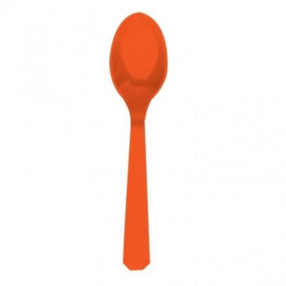 Κουτάλια πλαστικά Πορτοκαλί...