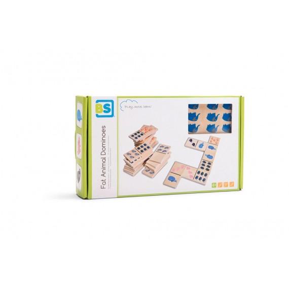 BS Toys Domino με ζωάκια GA318