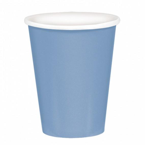 Ποτήρια χάρτινα 266ml σιέλ...