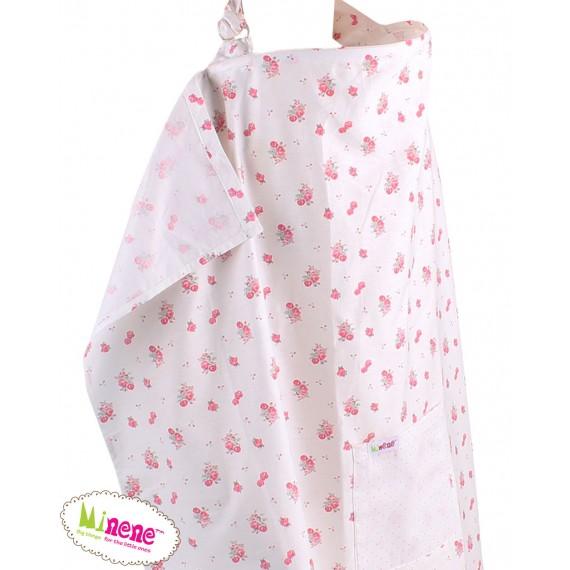 Minene Κάλυμμα Θηλασμού Ροζ...