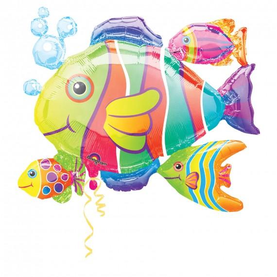 Φοιλ Σχήμα Tropical Fish...
