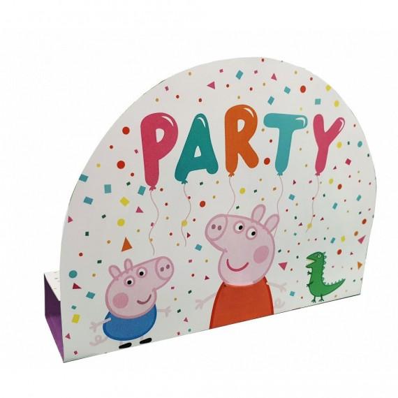 Προσκλήσεις Peppa Pig 8τεμ.