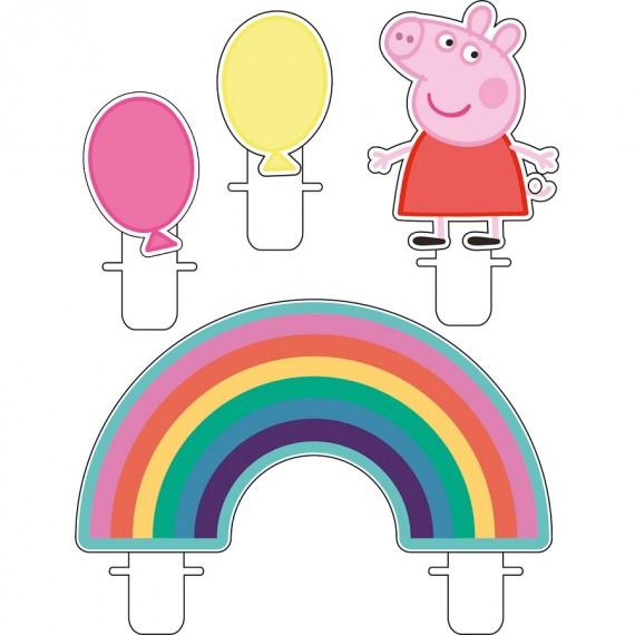 Κεριά Peppa Pig 4τεμ