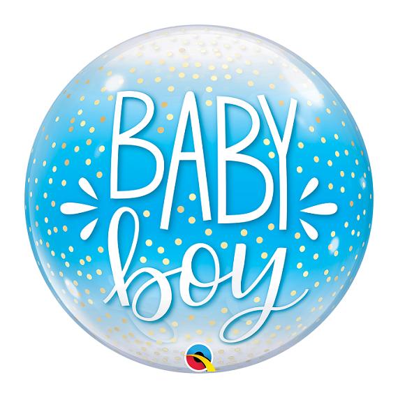 """Bubble μονό 22"""" Baby Boy..."""