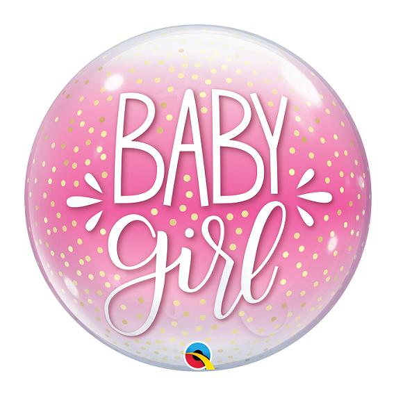 "Bubble μονό 22"" Baby Girl..."