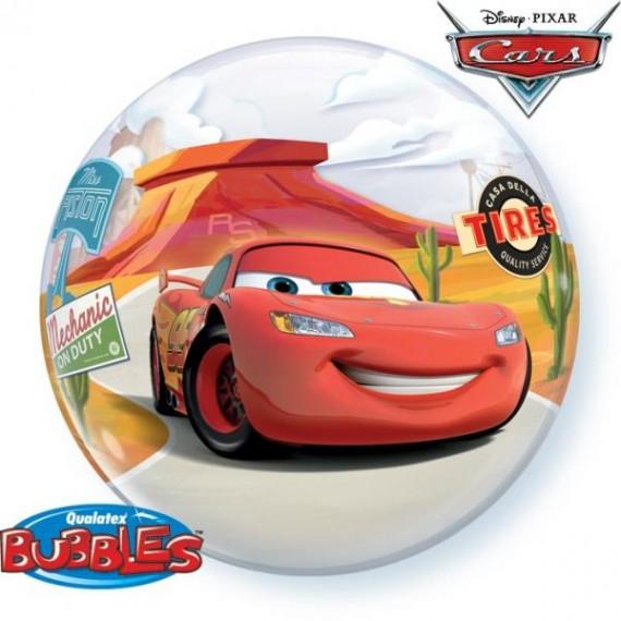 Bubble μονό Cars Lightning...