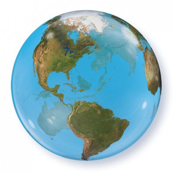 Bubble μονό Planet Earth...