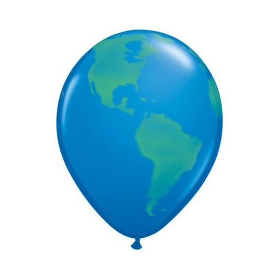 Μπαλόνια Λατεξ Globe Dark...