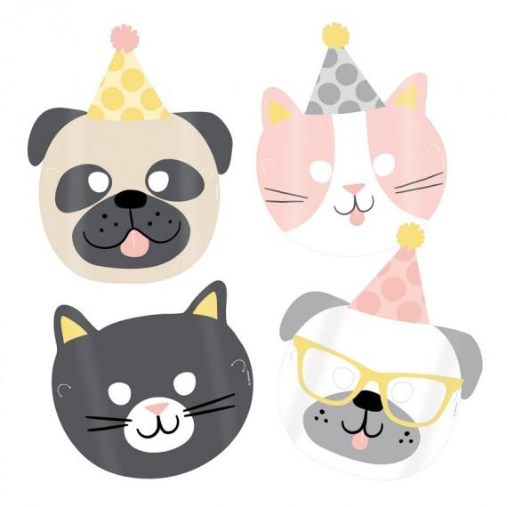 Μάσκες χάρτινες Hello Pets...
