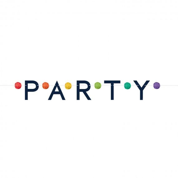 Γιρλάντα Γράμματα Party με...