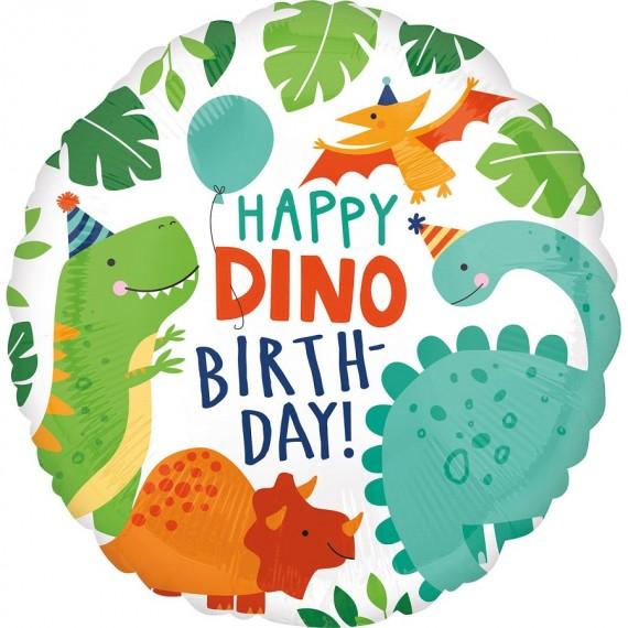 """Μπαλόνι φοιλ 18"""" Happy Dino..."""