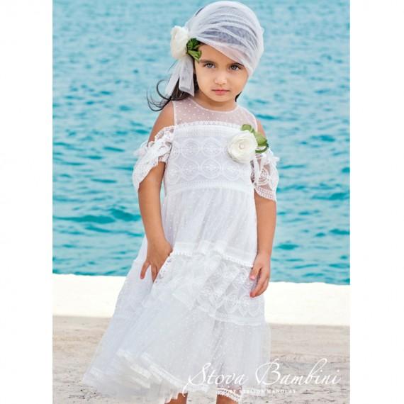 Βαπτιστικό Φόρεμα G12 Stova...