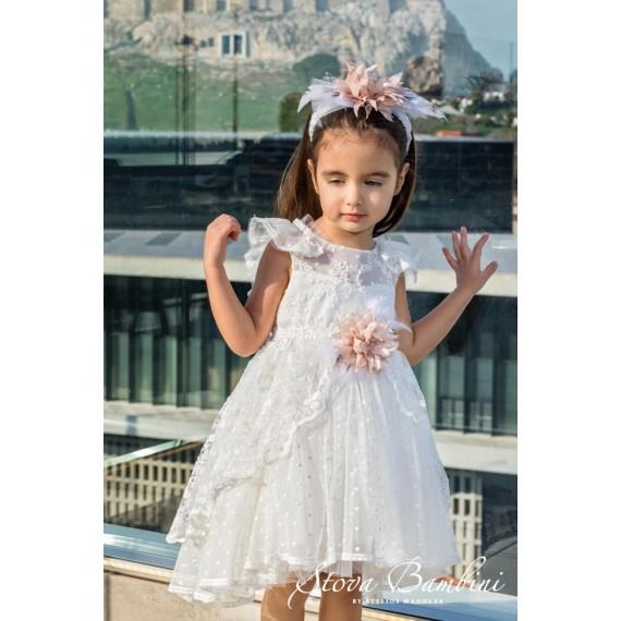 Βαπτιστικό Φόρεμα G24 Stova...