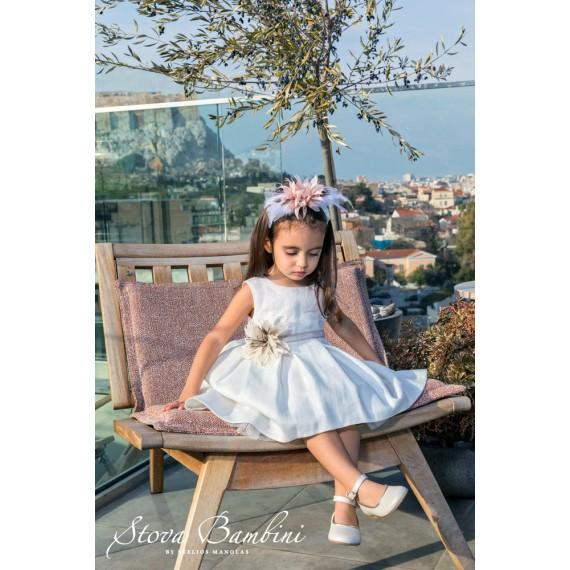 Βαπτιστικό Φόρεμα G23 Stova...