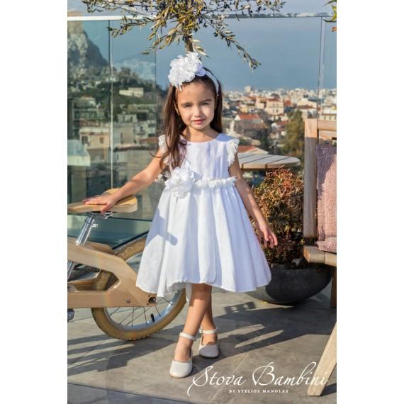 Βαπτιστικό Φόρεμα G22 Stova...