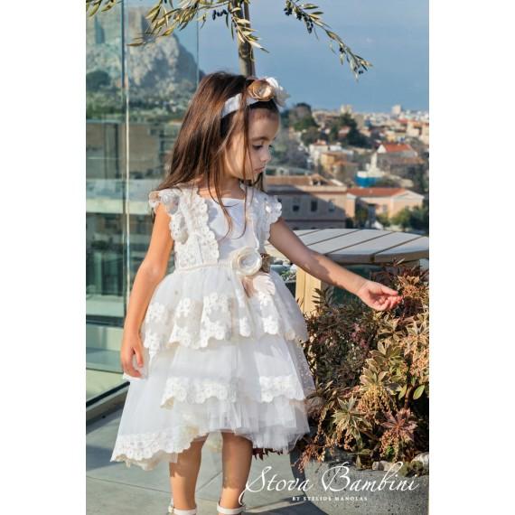 Βαπτιστικό Φόρεμα G10 Stova...
