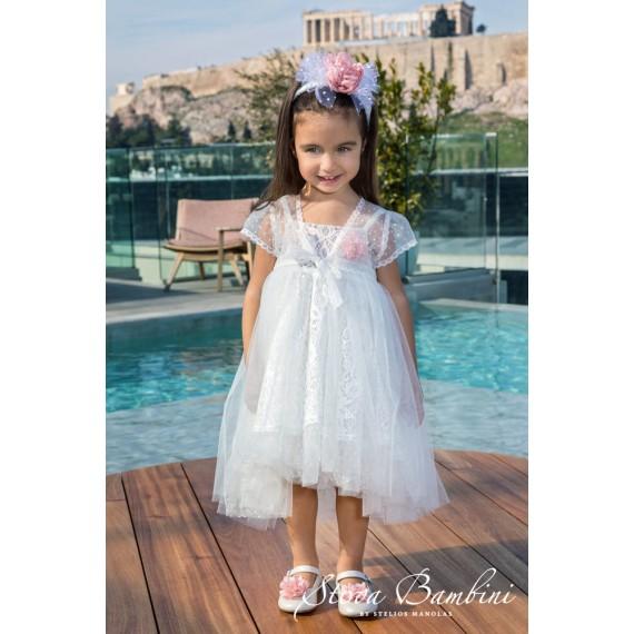 Βαπτιστικό Φόρεμα G8 Stova...