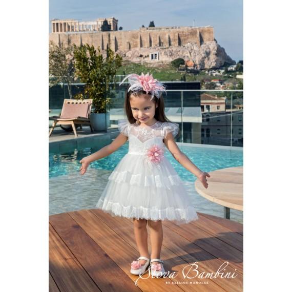 Βαπτιστικό Φόρεμα G6 Stova...