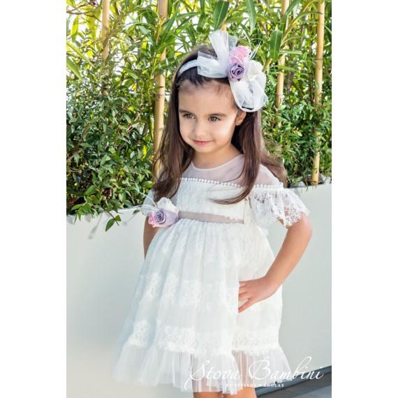 Βαπτιστικό Φόρεμα G5 Stova...