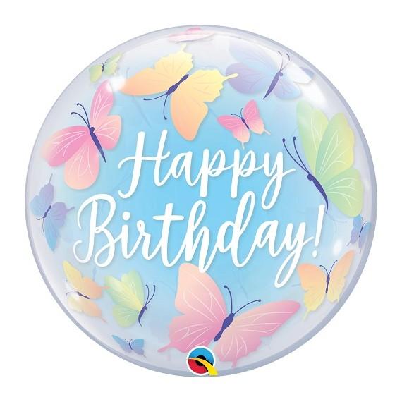 "Bubble Μονό 22"" Birthday..."