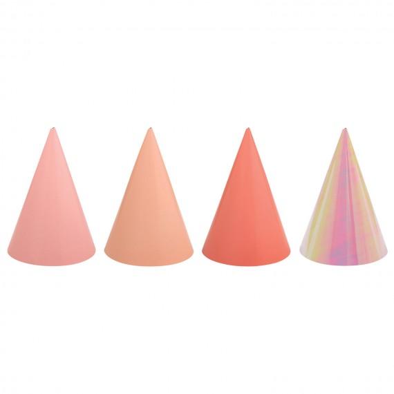 Καπελάκια Ασσορτί Ροζ 12τεμ