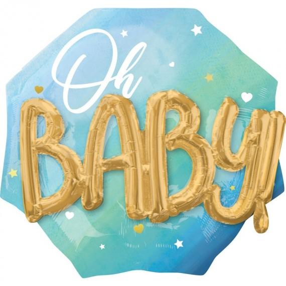 Μπαλόνι Φοιλ Μπλε Baby Boy...