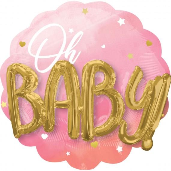 Μπαλόνι Φοιλ Ροζ Baby Girl...