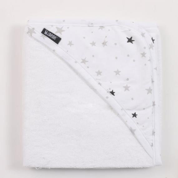 Minene πετσέτα bamboo  grey...