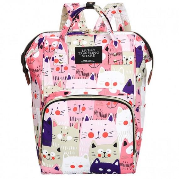 Τσάντα πλάτης μωρού ροζ με...