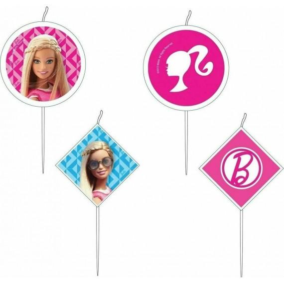 Κεράκια Barbie Sparkle 4 τεμ