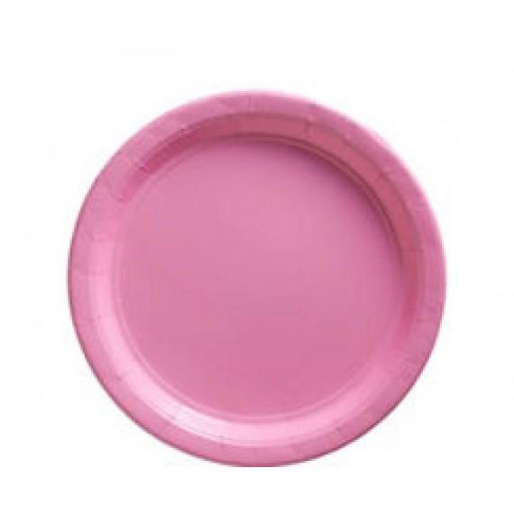 Πιάτα χάρτινα 22.8εκ Ροζ...